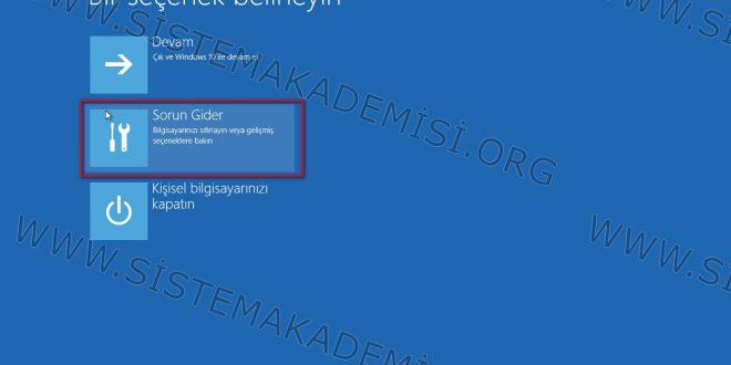 Windows 10 Güvenlimod da açma Resimli ve Videolu Anlatım