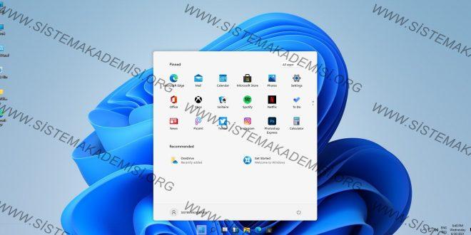 Windows 11 Kurulum Ve ilk Görünüm
